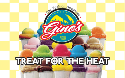 Gino's Orginial Italian Ices from Brooklyn available in Las Vegas
